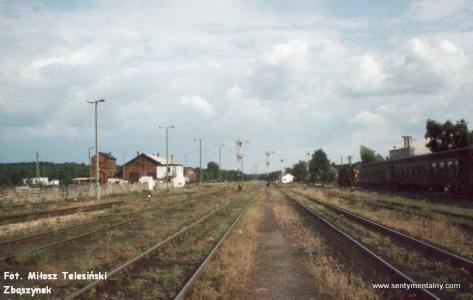 Stacja kolejow Bełżec